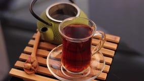 土耳其茶和茶壶 影视素材