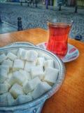土耳其茶 免版税图库摄影