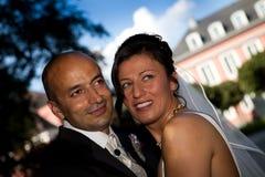 土耳其蓝天婚礼 免版税库存图片
