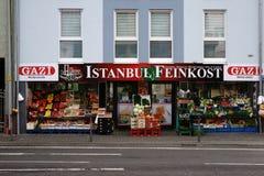 土耳其蔬菜水果商 免版税库存图片