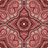 土耳其装饰品,无缝的样式 免版税库存照片