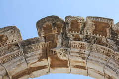 土耳其语废墟 免版税库存图片
