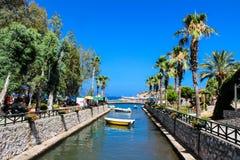 土耳其语里维埃拉Turunc -马尔马里斯港 库存图片