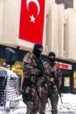 土耳其迅速反应力量专业队Cevik Kuvvet 免版税图库摄影