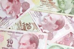 土耳其里拉 免版税库存图片