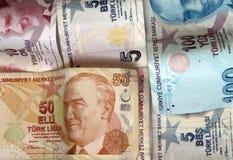 土耳其里拉 免版税库存照片