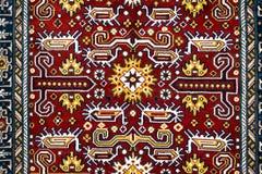 土耳其阿塞拜疆地毯的零件 图库摄影