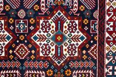 土耳其阿塞拜疆地毯的零件 免版税图库摄影