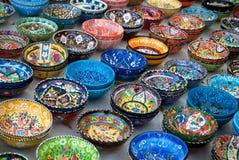 土耳其陶瓷 免版税图库摄影