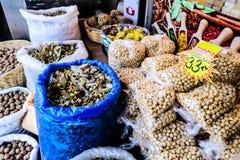 土耳其香料义卖市场 免版税库存照片