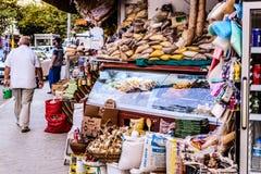 土耳其香料义卖市场 库存照片