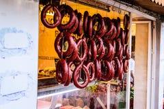 土耳其香料义卖市场 免版税图库摄影