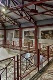 土耳其,伊斯坦布尔, 13,03,2018马赛克博物馆 免版税图库摄影