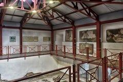 土耳其,伊斯坦布尔, 13,03,2018马赛克博物馆 免版税库存图片