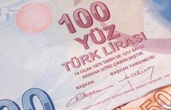 土耳其货币 图库摄影