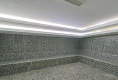 土耳其浴hammam内部  免版税库存照片