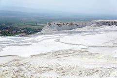 土耳其- pamukkale (棉花城堡) 库存照片