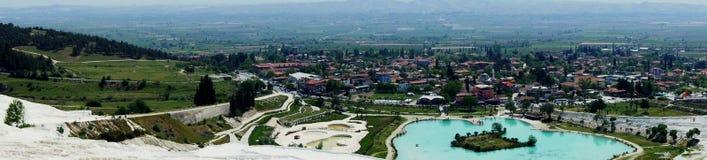 土耳其- pamukkale (棉花城堡) 免版税库存照片