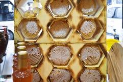 土耳其karakovan蜂蜜 有机和自然 库存照片