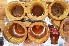 土耳其karakovan蜂蜜 有机和自然 图库摄影