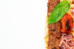 土耳其shish阿达纳kebab 库存图片