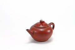黏土茶壶 免版税库存图片