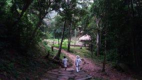 土著人民村庄 图库摄影
