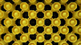 土蜂墙纸按钮 库存图片
