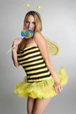 土蜂服装万圣节 免版税图库摄影