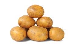 土豆堆 免版税库存照片