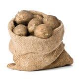 土豆大袋 库存图片