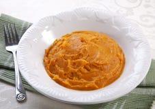 土豆汤甜点 免版税库存图片