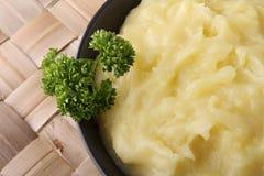 土豆汤 库存照片