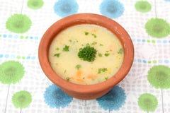 土豆汤 图库摄影