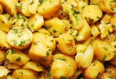 土豆沙拉 免版税库存照片