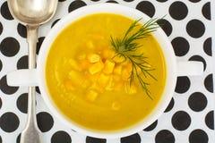 土豆泥汤用玉米 库存照片