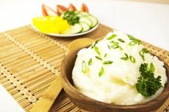 土豆泥 免版税库存图片