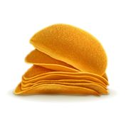 土豆片传染媒介例证 库存例证