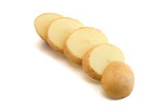 土豆片式 库存图片