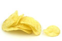 土豆片 免版税库存照片