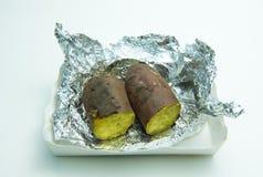 土豆甜日语 库存照片