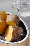 土豆甜点 库存照片