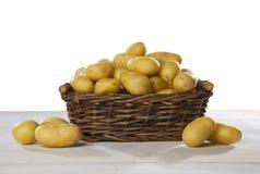土豆篮子 免版税库存照片