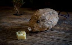 土豆老鼠 免版税库存图片