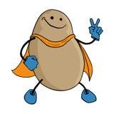 土豆英雄例证 向量例证