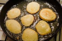 土豆薄烤饼 免版税库存图片