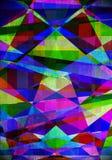 土质几何背景和设计要素 图库摄影