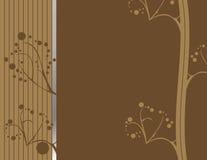 土质1个抽象棕色的设计 免版税图库摄影