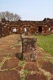 圣・ Ignacio废墟  免版税库存图片
