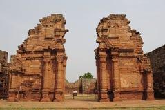 圣・ Ignacio废墟  库存照片